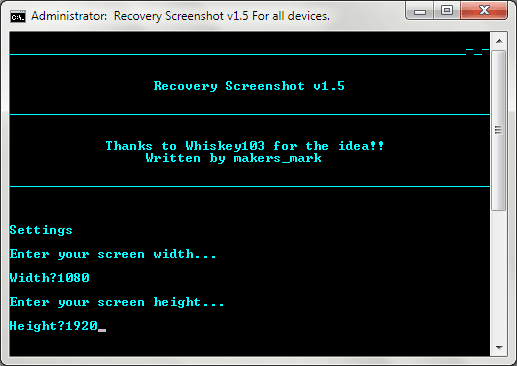 Android Recovery Screenshot for Windows 03