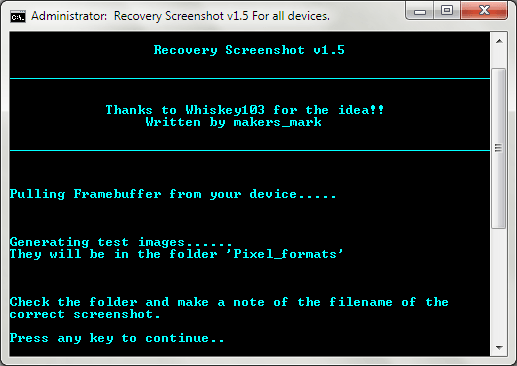 Android Recovery Screenshot for Windows 04