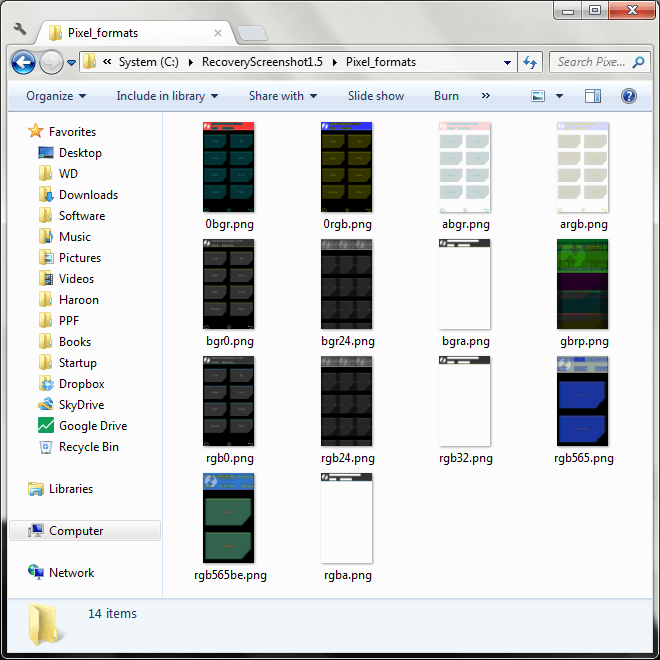 Android Recovery Screenshot for Windows 05