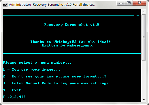 Android Recovery Screenshot for Windows 06