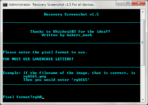 Android Recovery Screenshot for Windows 07