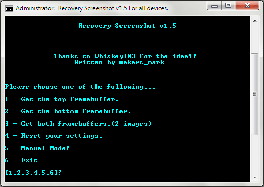 Android Recovery Screenshot for Windows 08