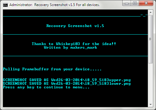 Android Recovery Screenshot for Windows 09