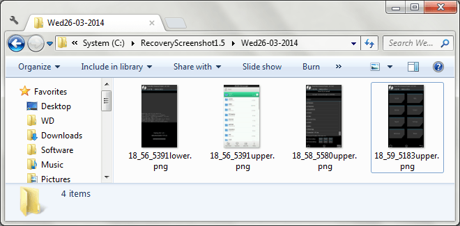 Android Recovery Screenshot for Windows 09a