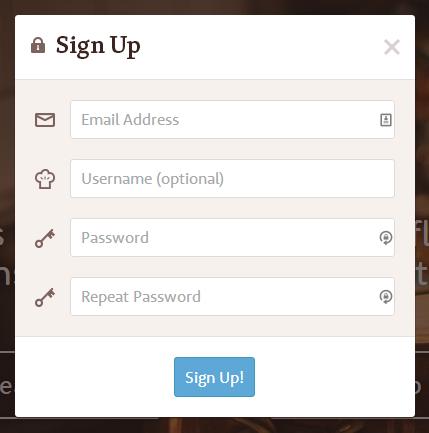 FitsMe_Sign up