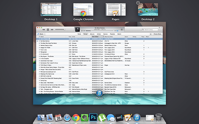 Mac Work Config - Spaces
