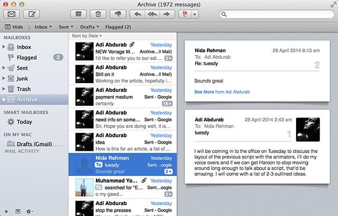 Mac Work - Mail.app