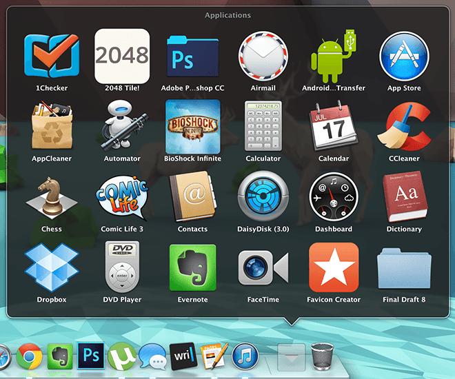 Mac Work Config - Folder Shortcut