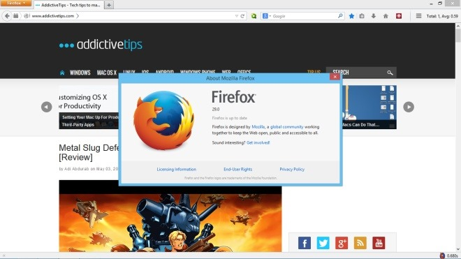 Restore Classic Theme Firefox 29