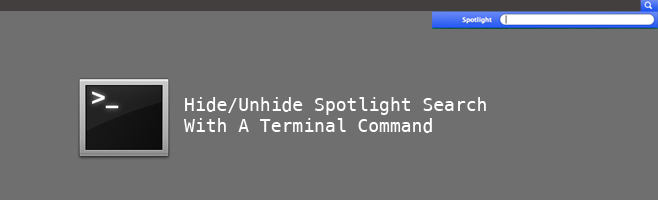 hide spotlight