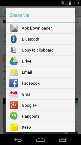 Apk Downloader Extension share