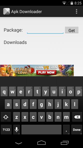 Apk Downloader Extension
