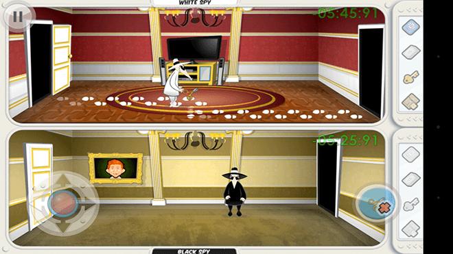 Spy vs Spy – Gameplay