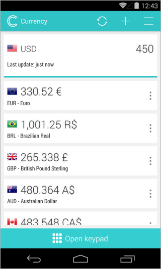 Simple Currency Converter_Main