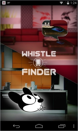 Whistle Phone Finder