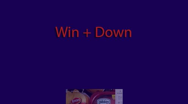 Win   Down