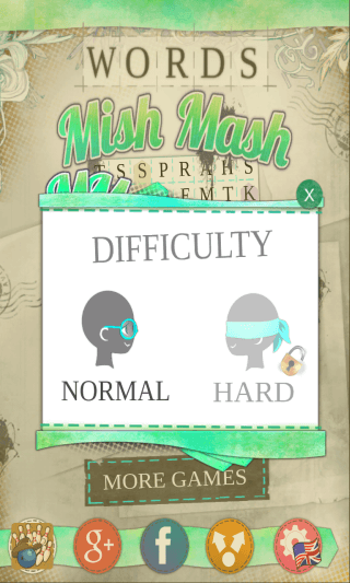 Words MishMash_difficulty