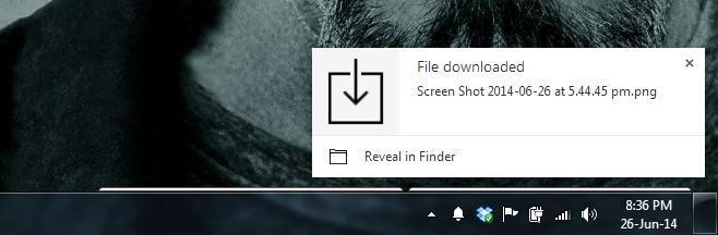 download notifier
