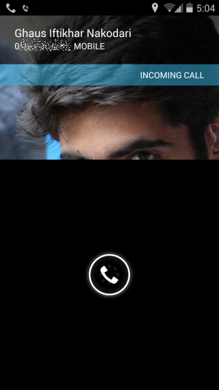 Essential Calls_incoming call