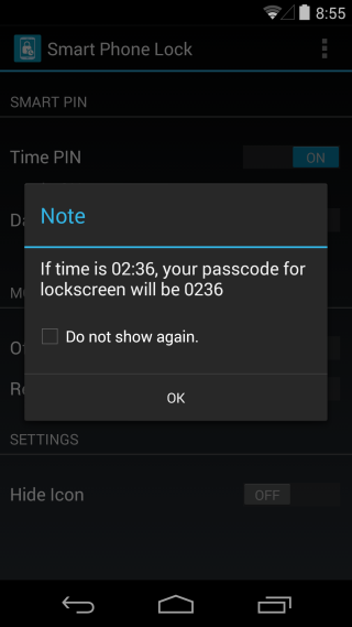 PIN note