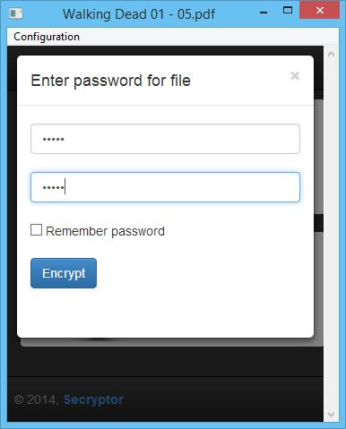 SecryptorPassword