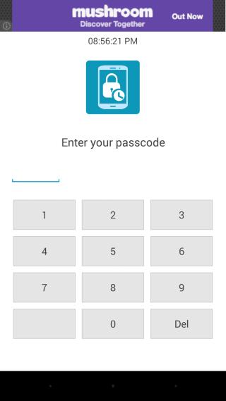 Smart Phone Lock enterPIN