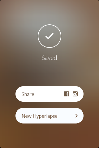 Hyperlapse share