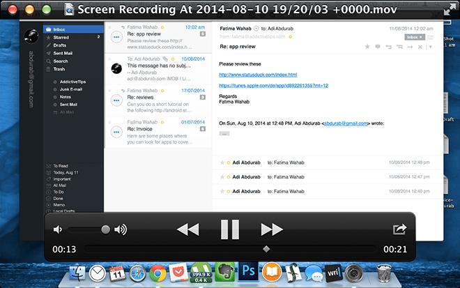 Screen Replay - Playback