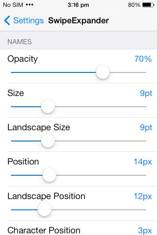SwipeExpander settings2