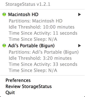 StorageStatus - Drives