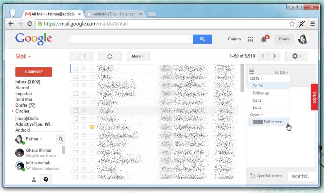sortd gmail