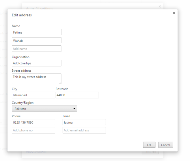 Edit address_Chrome