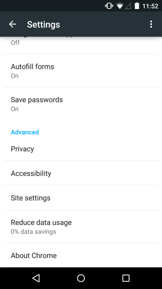 Chrome_android_settings