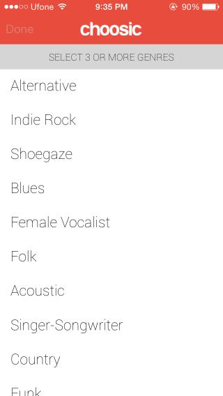 choosic_genres