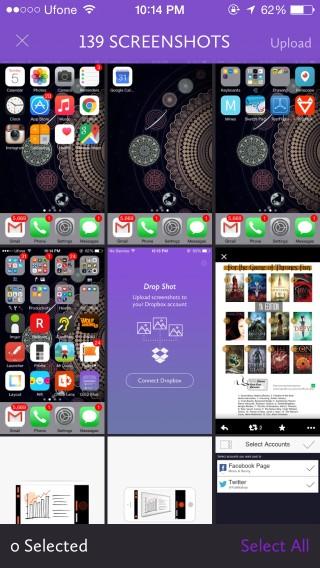 drop shot select screenshot