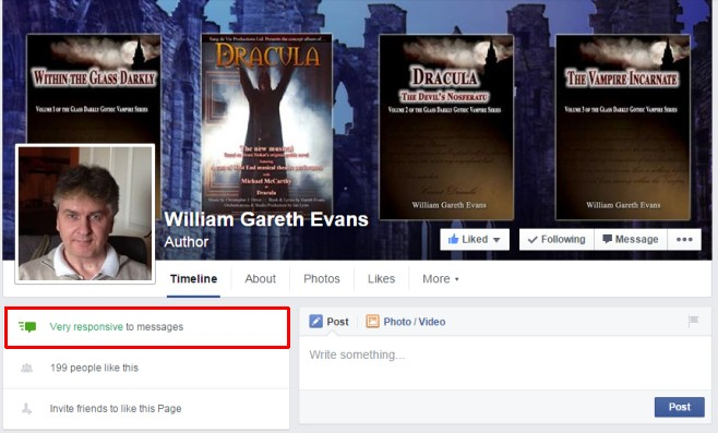 responsive fb page