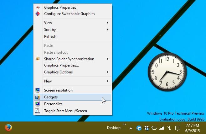 windows 10 gadgets