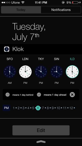 klok-widget