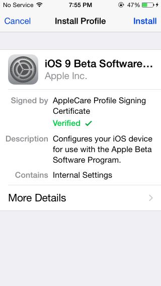 apple-beta-profile-install