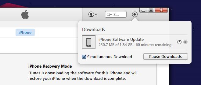 downloading ios9