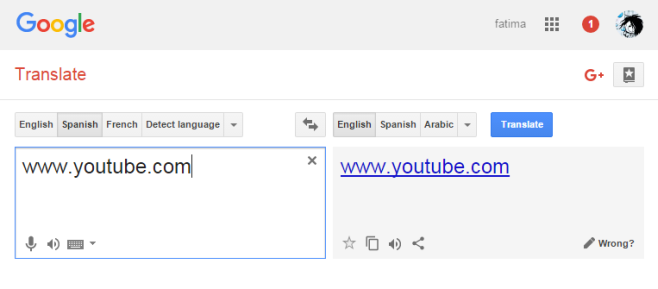 Google Translate - proxy