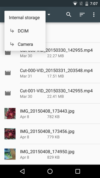 android 6 - file-explorer