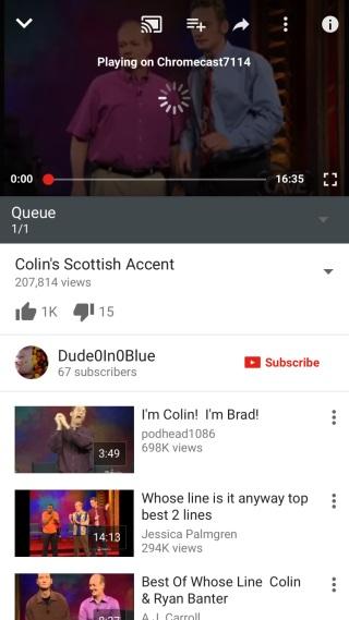 youtube-cast-app