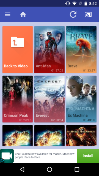 Server Cast Chromecast-SmartTV-play