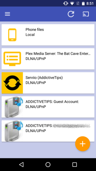 Server Cast Chromecast-SmartTV