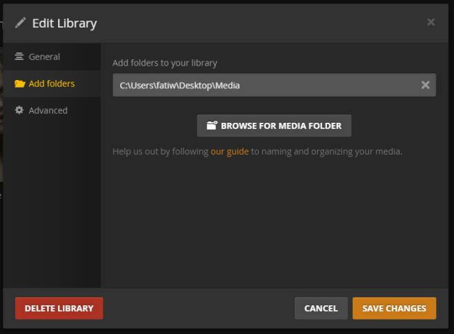 plex--library