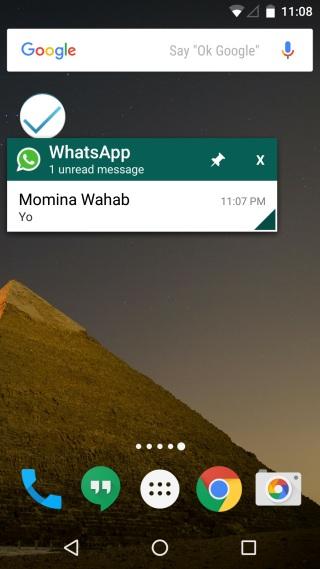 Chat Helper for WhatsApp-pin