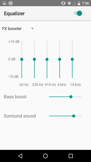 SoundWire-equalizer