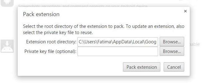 chrome-pack-extension
