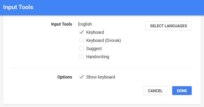 google-lang-input